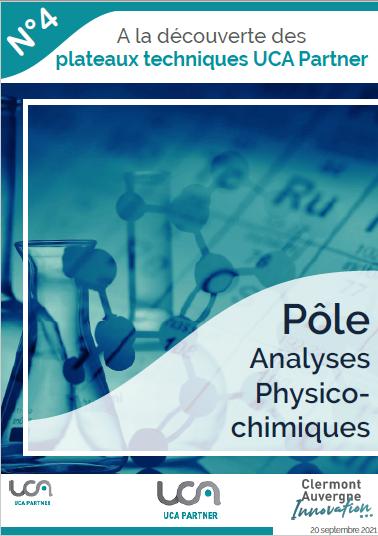 Découvrez le dossier technique du pôle analyses physico-chimiques
